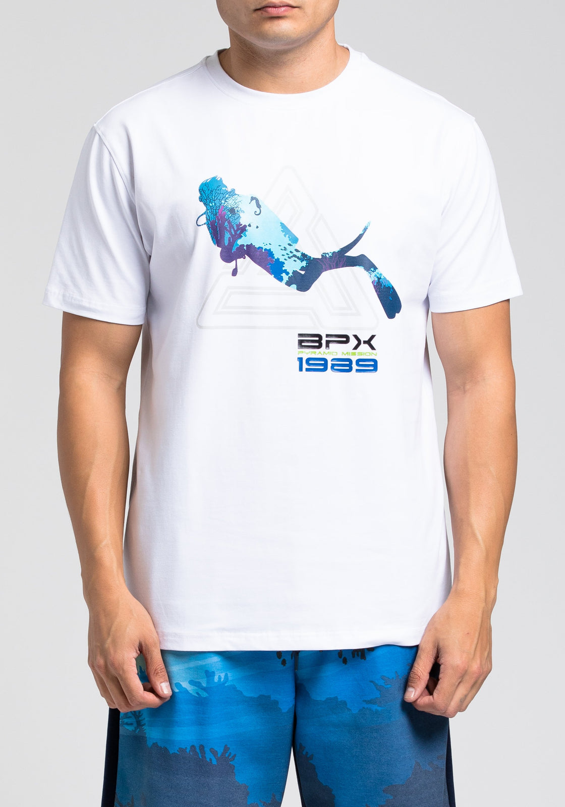 Scuba Mission Tee 2.0 - Color: White