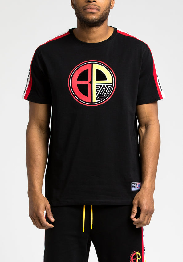 Moto Out Here Ballin Tee - Color: Black