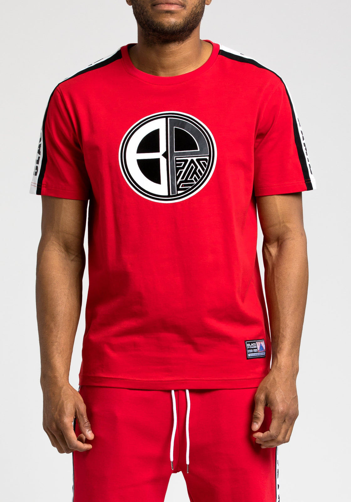 Moto Out Here Ballin Tee - Color: RED