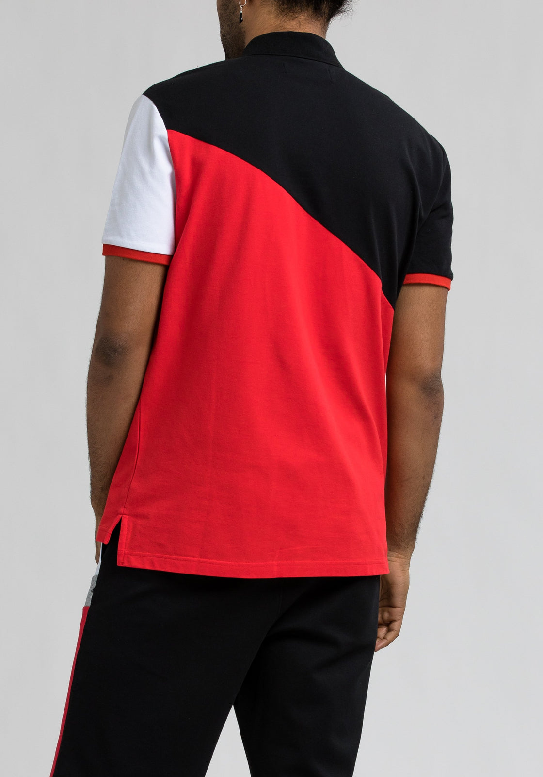Bp 89 Colorblock Polo - Color: Black