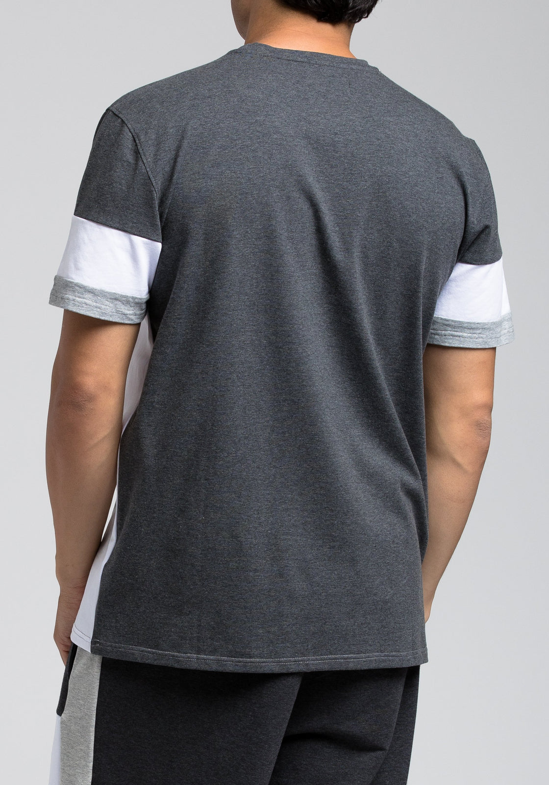 BP Block Tee - Color: Gray