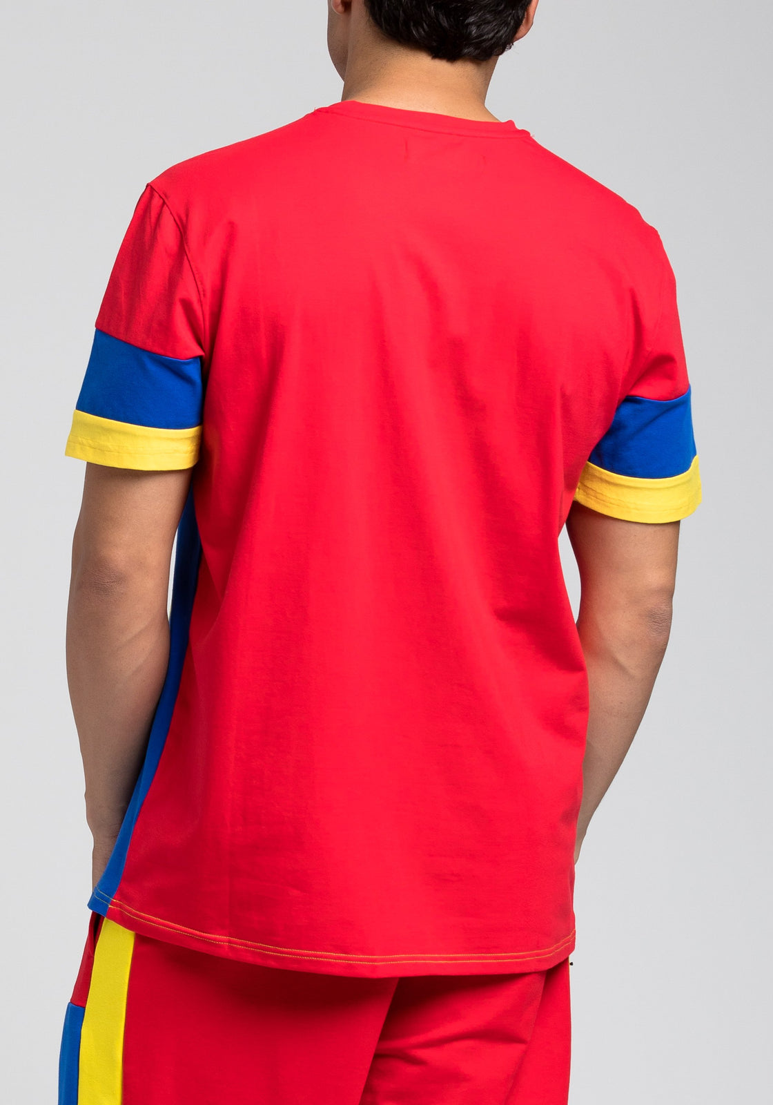 BP Block Tee - Color: RED