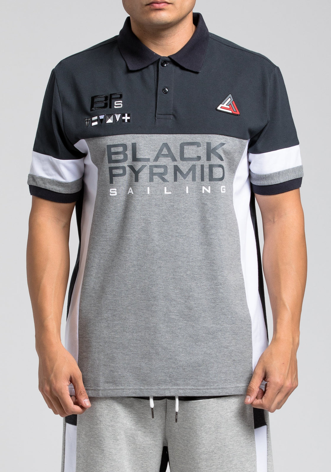 BP Block Polo - Color: Gray