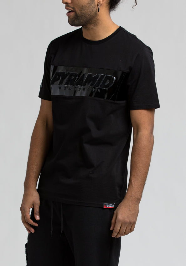 Pyramid Tee - Color: Black