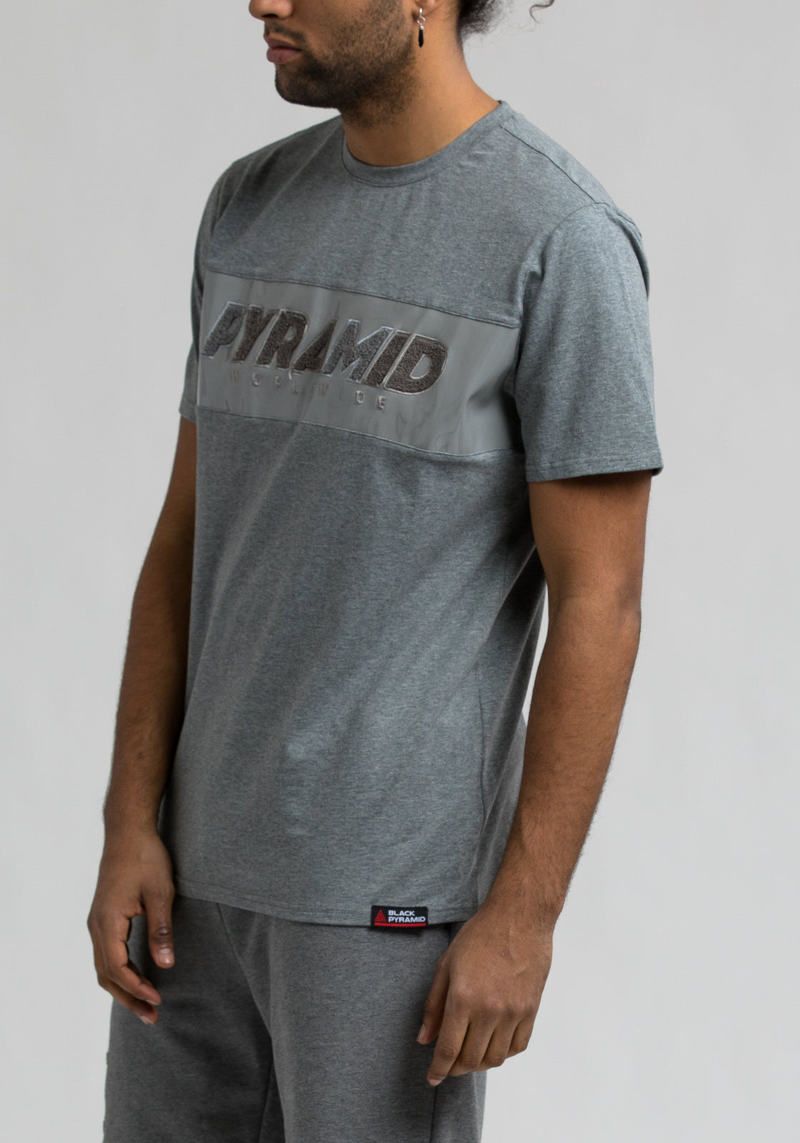 Pyramid Tee - Color: Gray