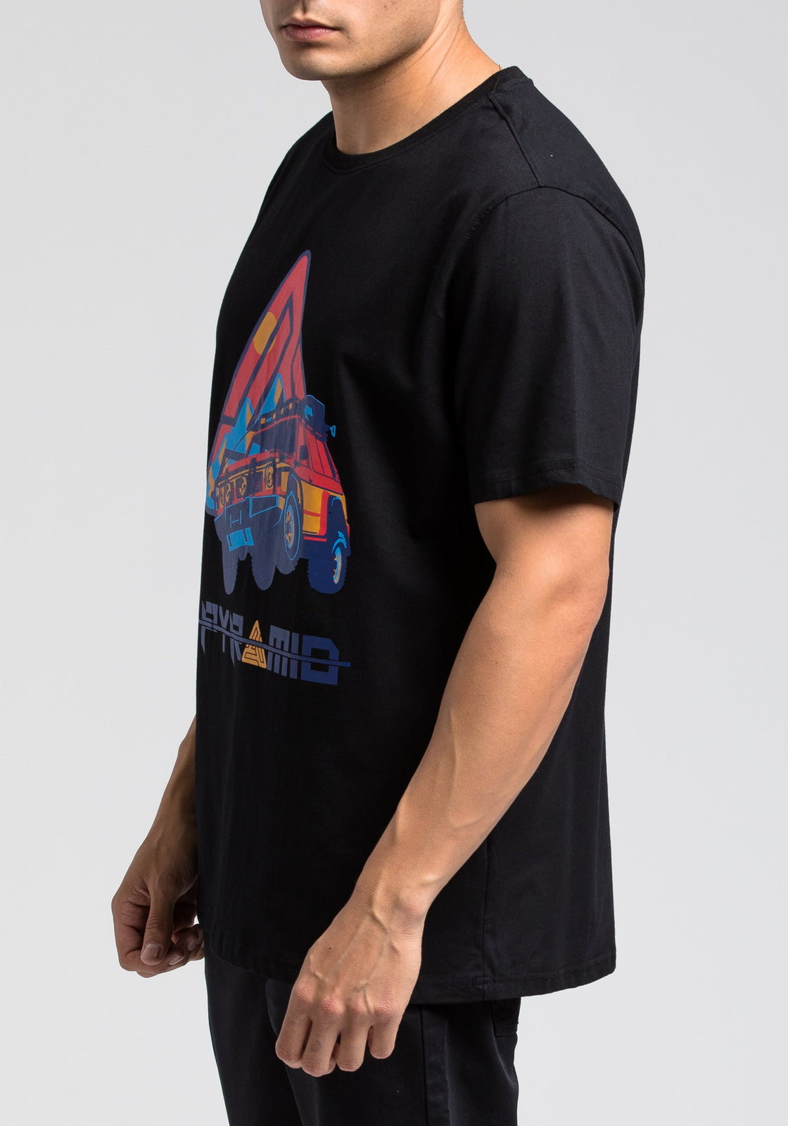 Expedition Race Tee - Color: Black