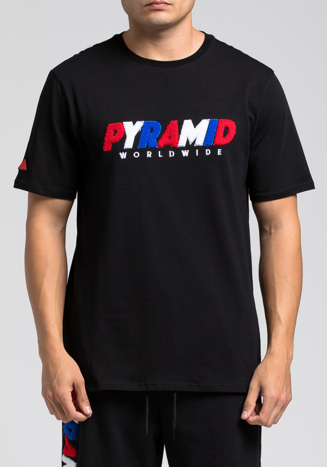 Pyramid Worldwide Tee - Color: Black