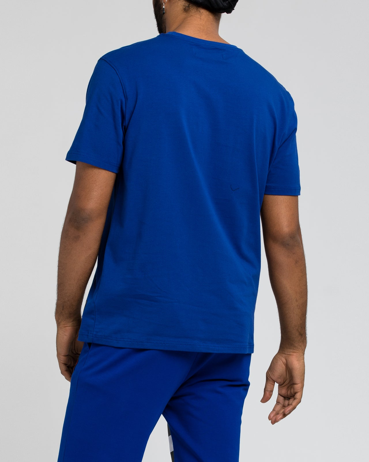 Black Pyramid Tee - Color: Blue