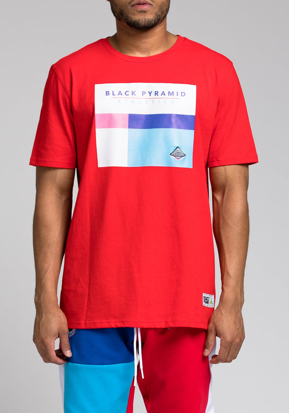BP Athletic Tee - Color: RED
