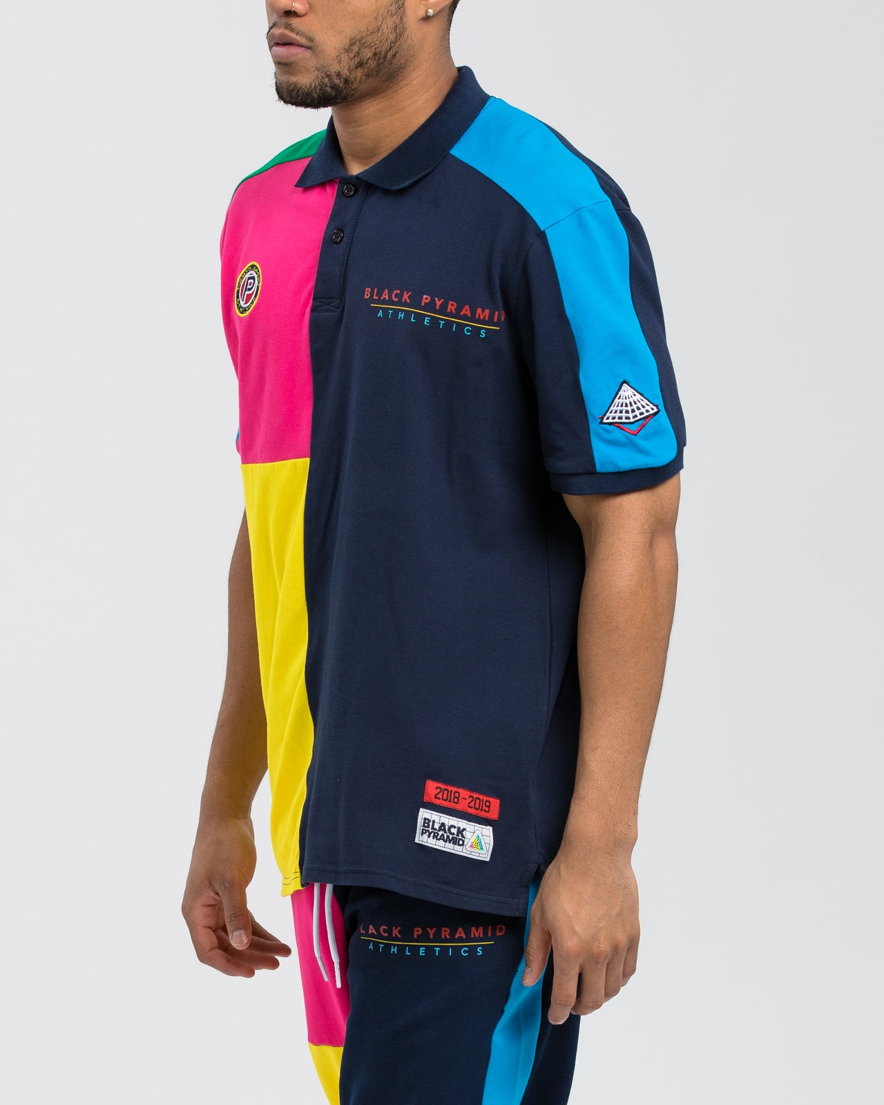BP Athletic Color Polo - Color: Navy | Blue