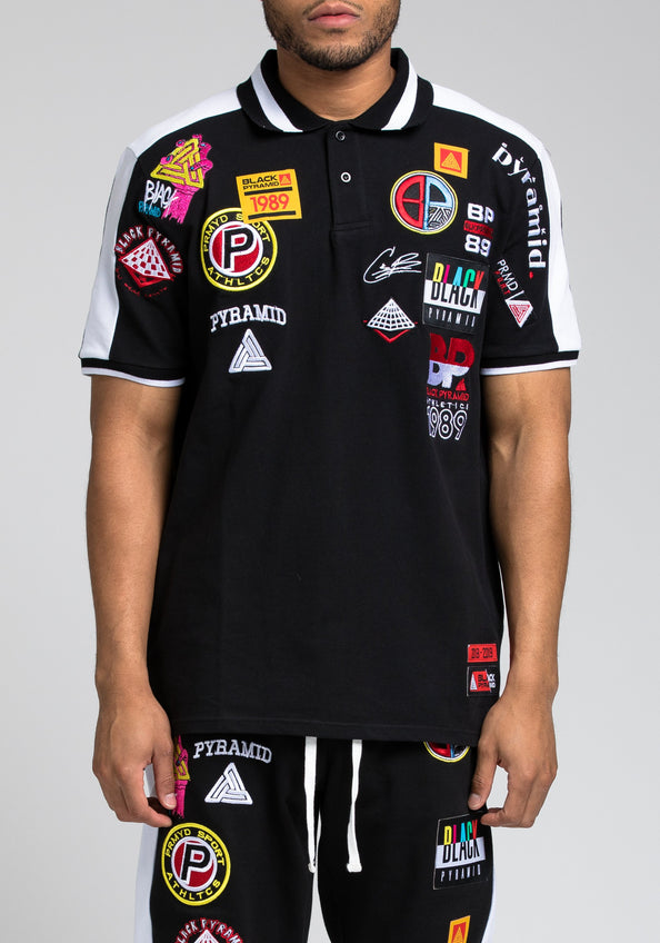 Future Patch Polo - Color: Black