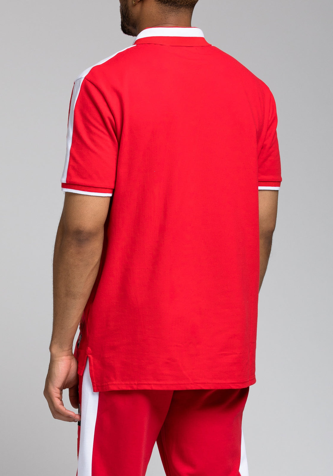 Future Patch Polo - Color: RED