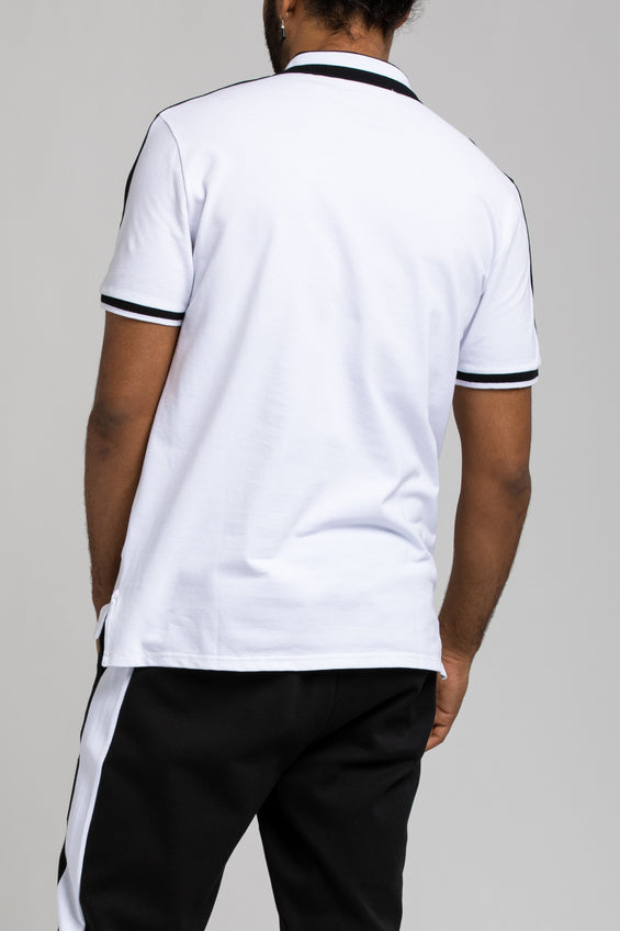 Future Patch Polo - Color: White