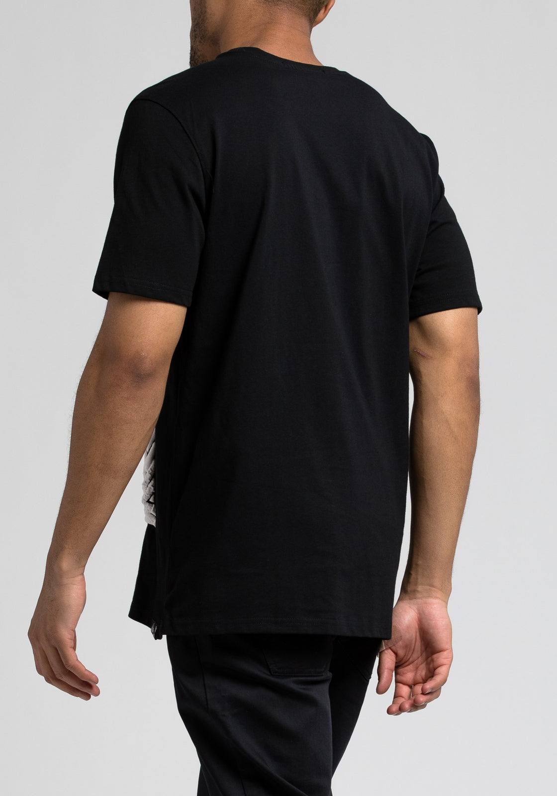 Pattern Pyramid Tee - Color: Black
