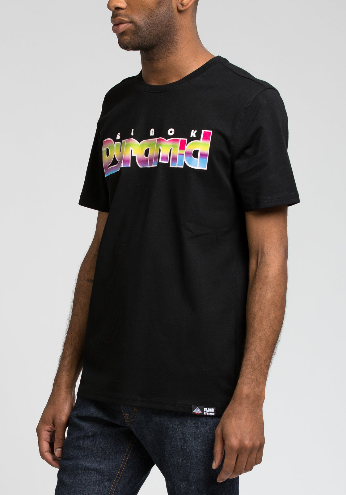 Prism Pyramid Tee - Color: Black