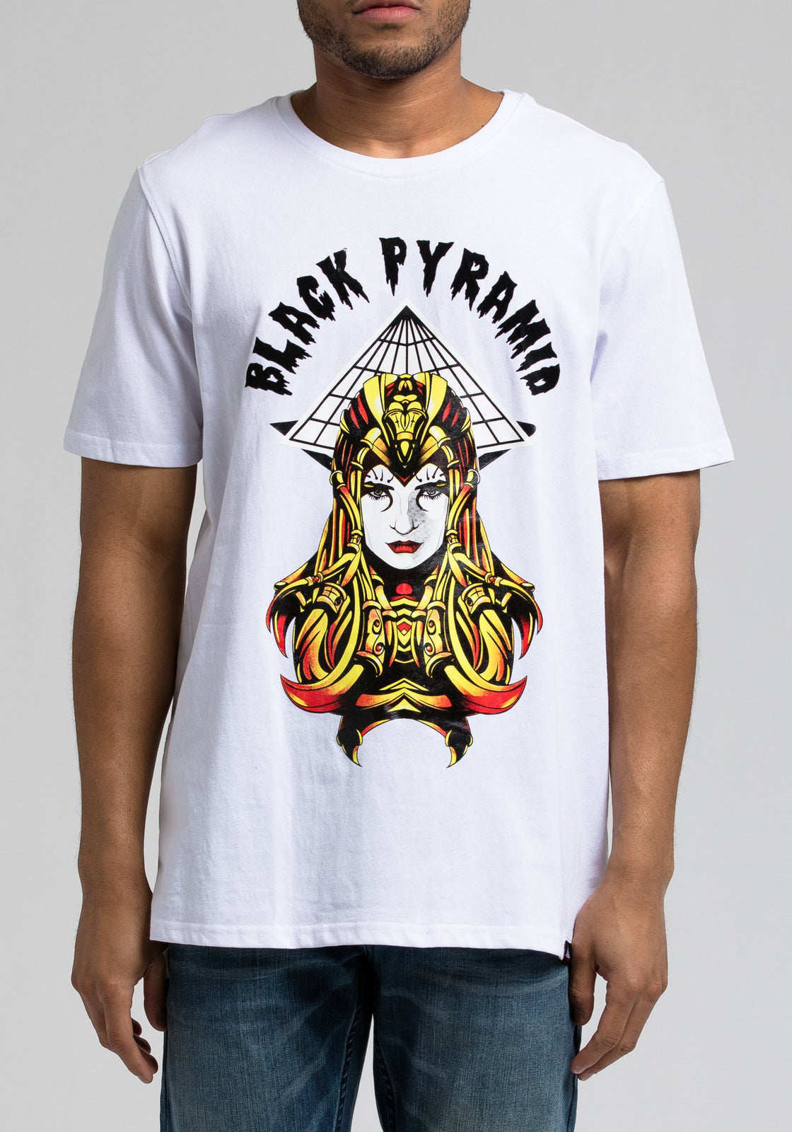 Amazon Pyramid Tee - Color: White