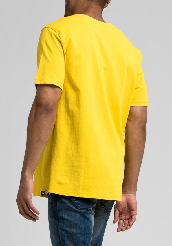 BP Fighter Jet Tee - Color: YELLOW