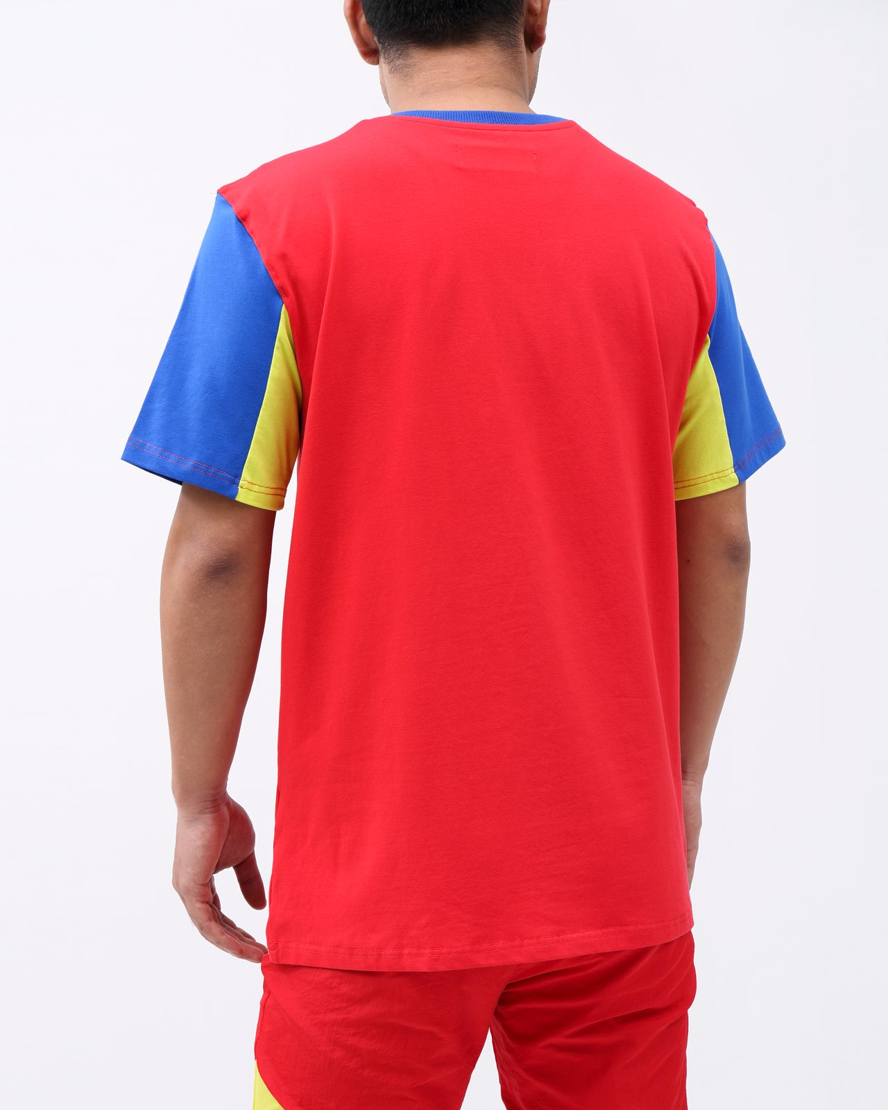 FUTURE OF NEON SHORT WAVE SHIRT - Color: RED