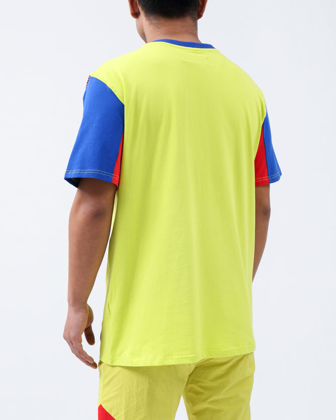 FUTURE OF NEON SHORT WAVE SHIRT - Color: YELLOW