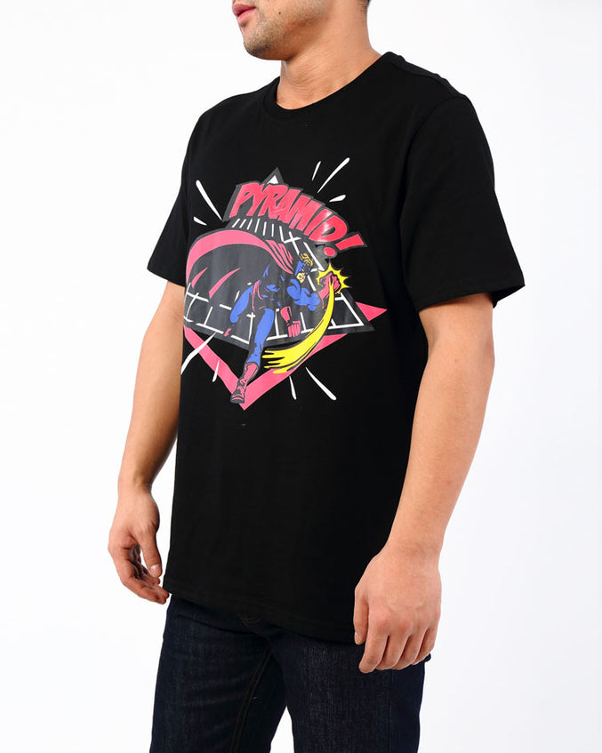HERO SHIRT-COLOR: BLACK