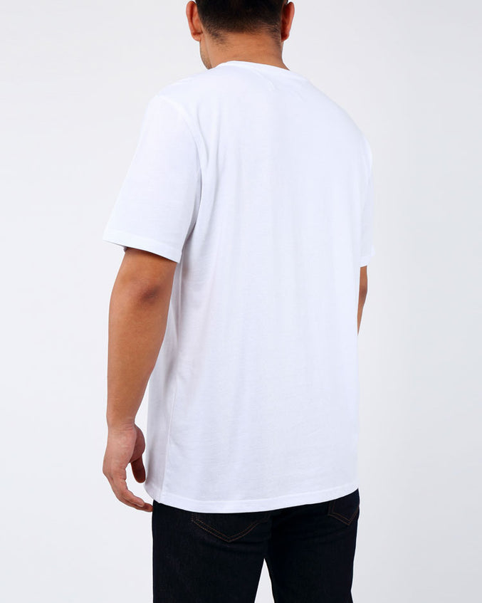 STONED EYES GITD LOGO SHIRT-COLOR: WHITE