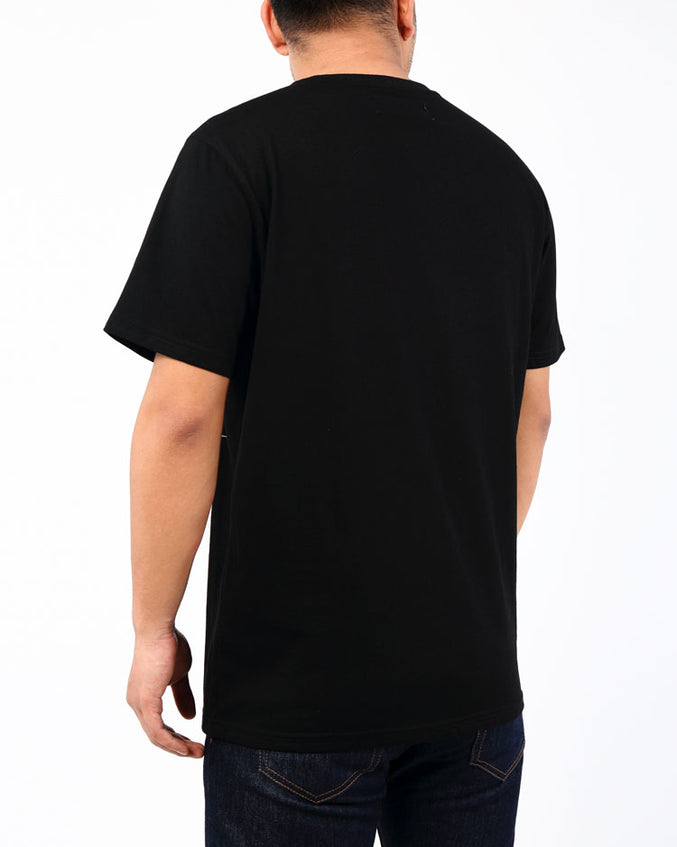 KAMIKAZE BONES SHIRT-COLOR: BLACK