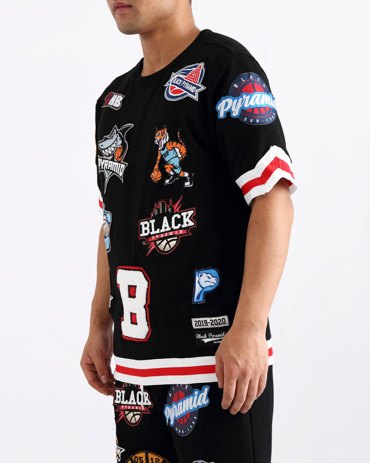 TOSS JERSEY-COLOR: BLACK