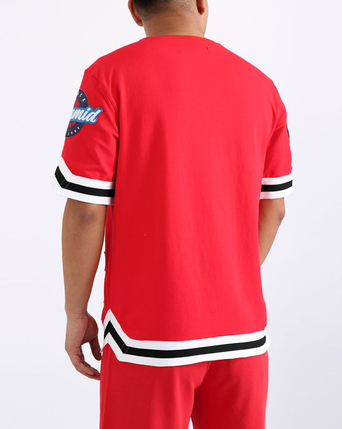 TOSS JERSEY-COLOR: RED