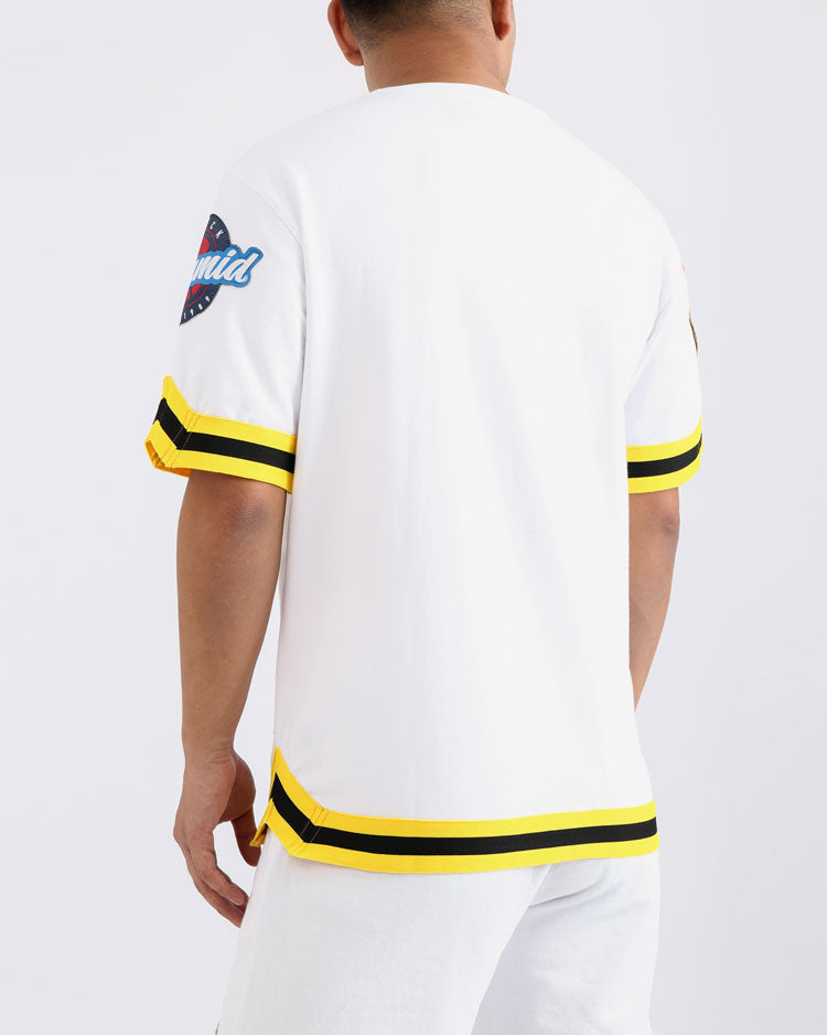 TOSS JERSEY-COLOR: WHITE