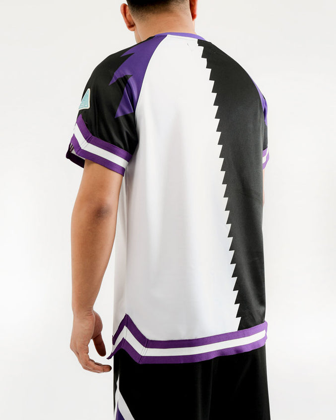 LIGHTNING SHOOTING JERSEY-COLOR: BLACK