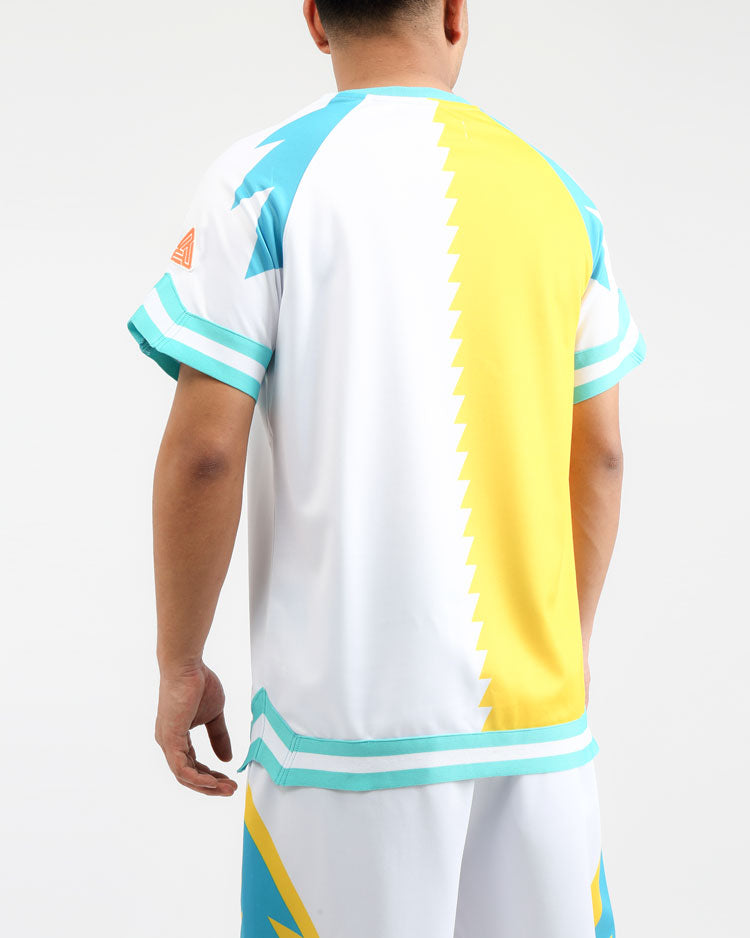 LIGHTNING SHOOTING JERSEY-COLOR: WHITE