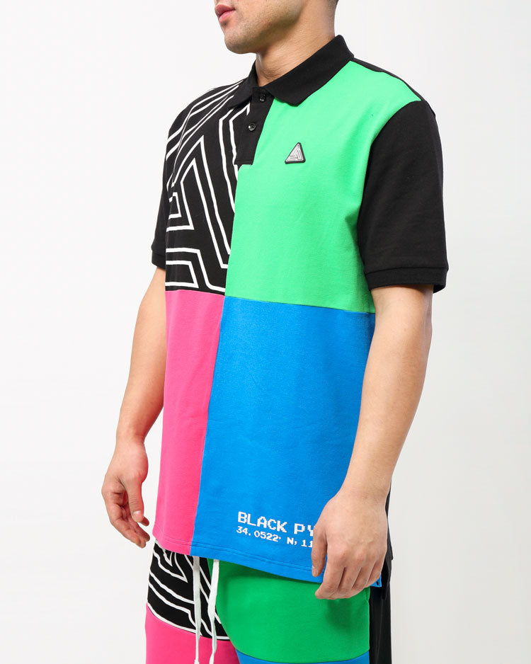 BIG AND TALL COLOR PALETTE POLO