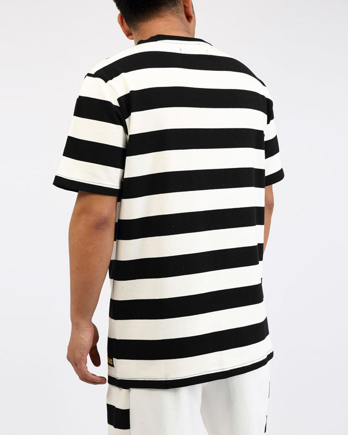GAME STRIPE SHIRT-COLOR: WHITE