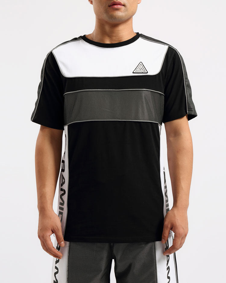 USA REFLECTIVE SHIRT-COLOR: BLACK