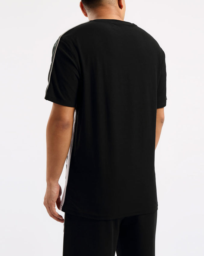 BIG AND TALL USA REFLECTIVE SHIRT-COLOR: BLACK