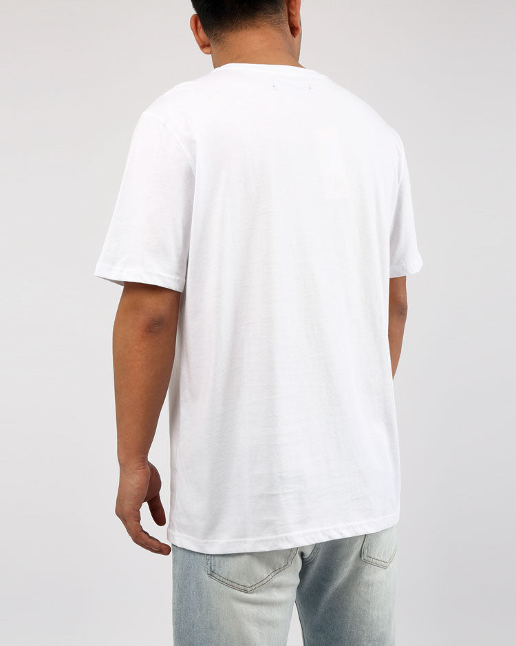 BIG AND TALL VINTAGE AD FRESH CLEAN TEE-COLOR: WHITE