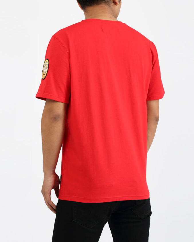 HIPPY DRIP SHIRT-COLOR: RED