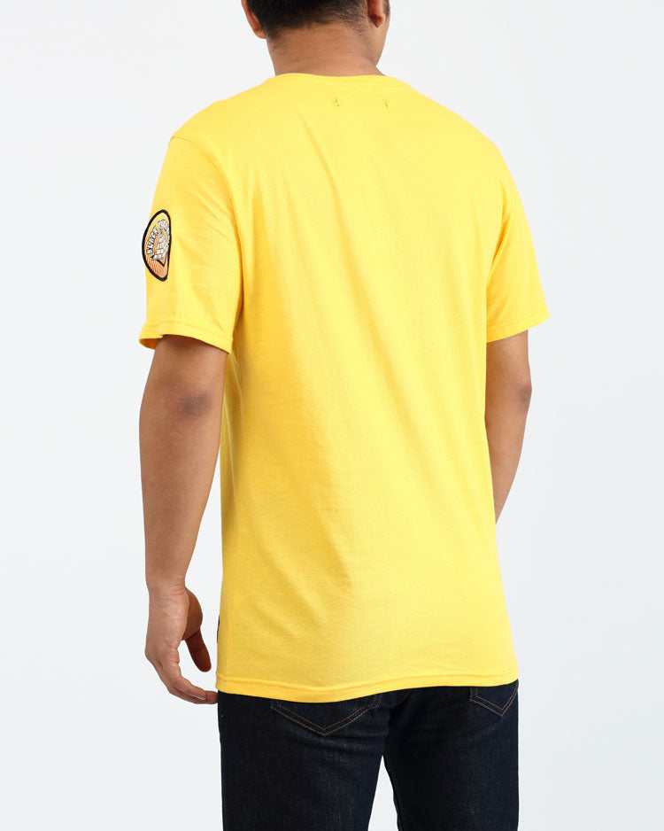 HIPPY DRIP SHIRT-COLOR: YELLOW