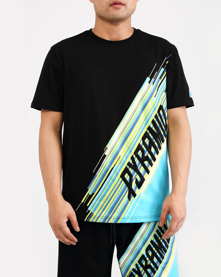 GEO BLAST SHIRT-COLOR: BLACK