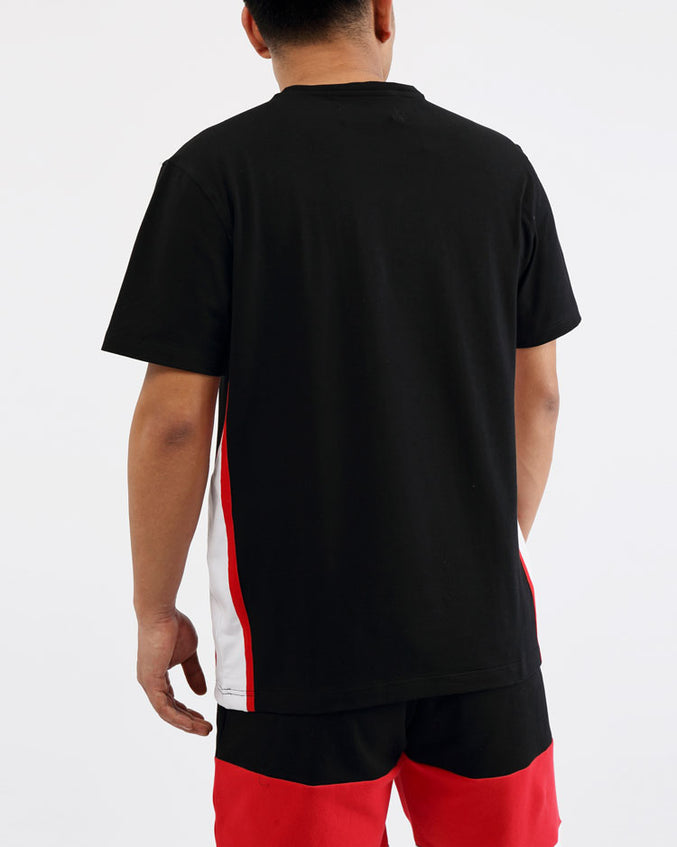 COLLEGE SPORT SHIRTS-COLOR: BLACK