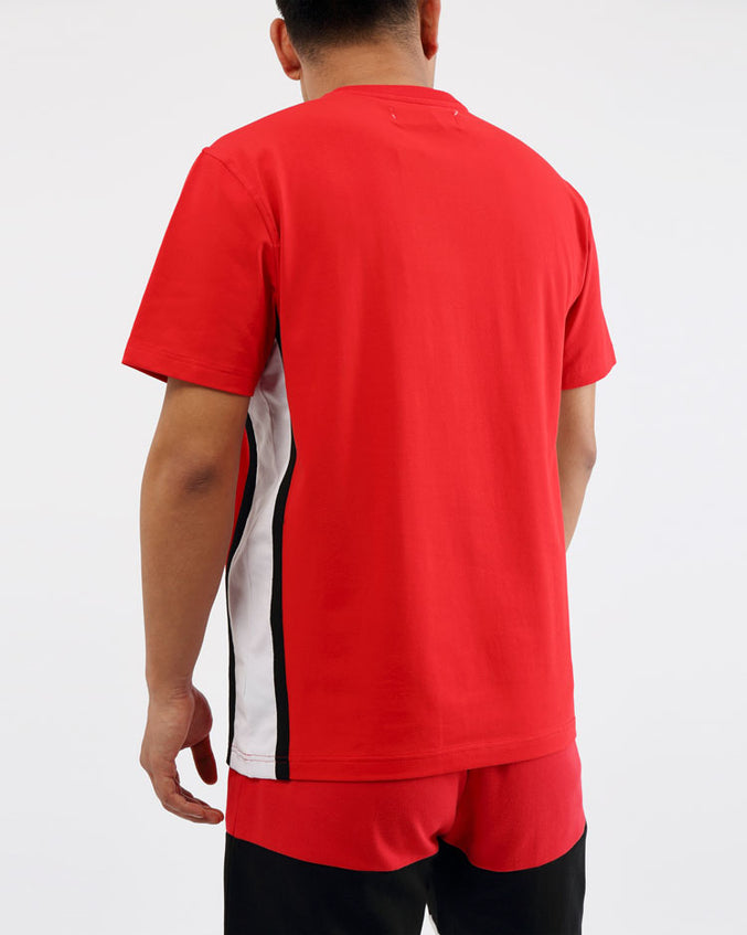 COLLEGE SPORT SHIRTS-COLOR: RED