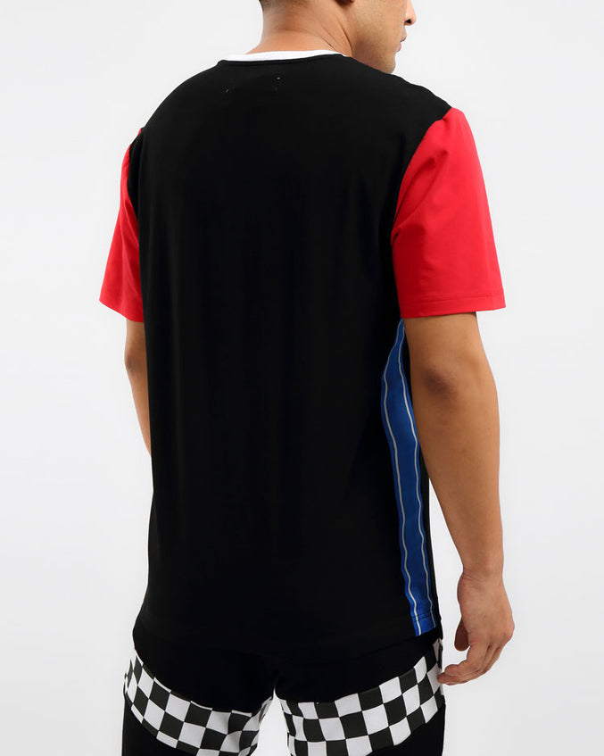VINTAGE SPEED RACER SHIRT-COLOR: BLACK