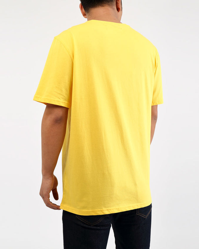 BIG AND TALL MONSTER WHEELS SHIRT-COLOR: YELLOW