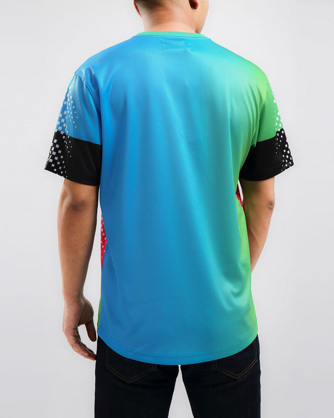 GRADED SPEED SHIRT-COLOR: BLUE