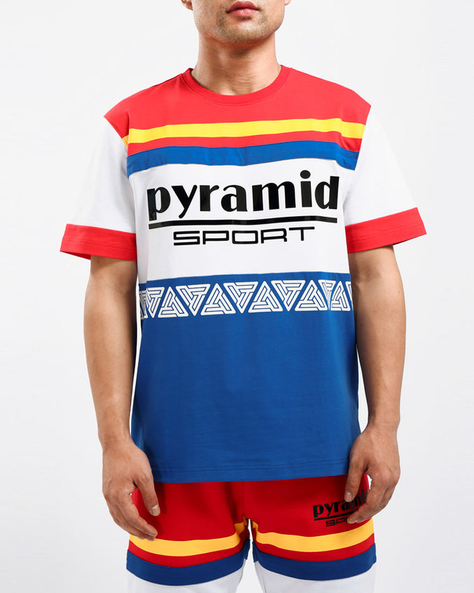 PYRAMID SPORT CYCLING SHIRT-COLOR: RED