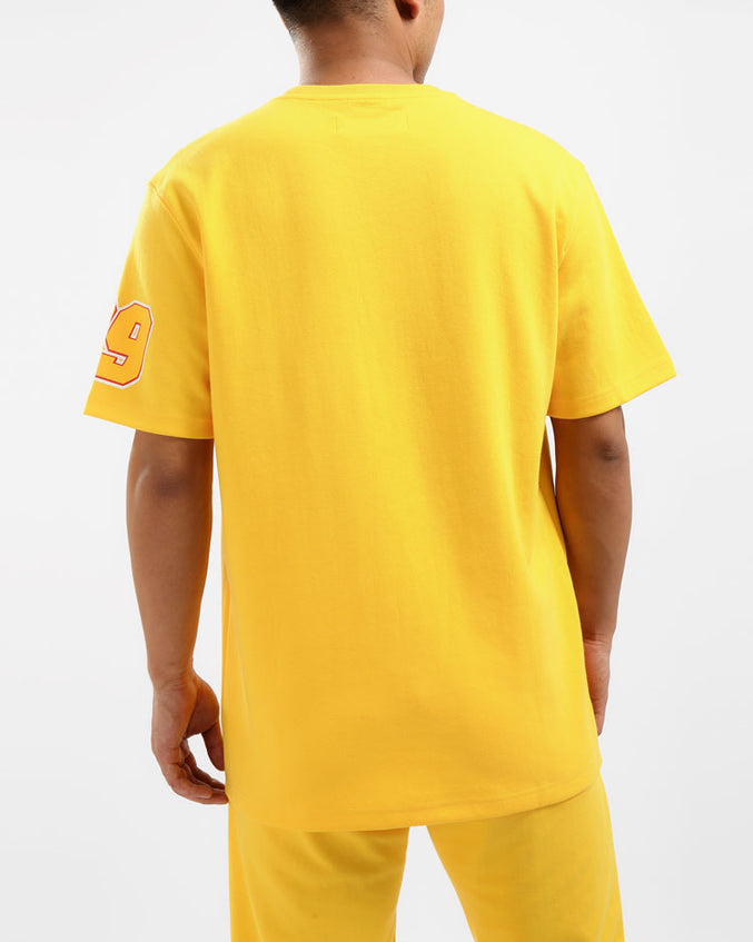 GREASE MONKEY SHIRT-COLOR: YELLOW