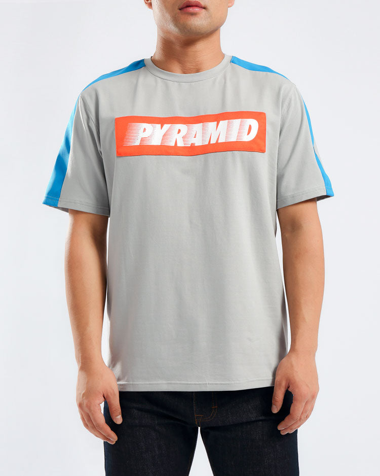 SPEED PIECED SHIRT-COLOR: LT BLUE