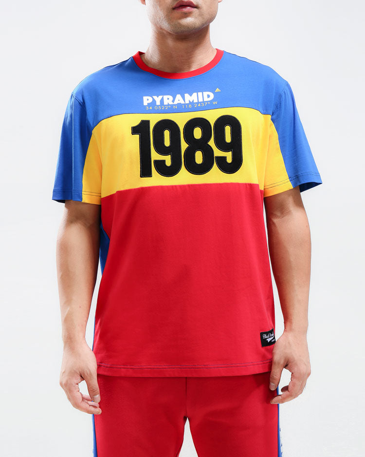 1989 SHIRT-COLOR: RED