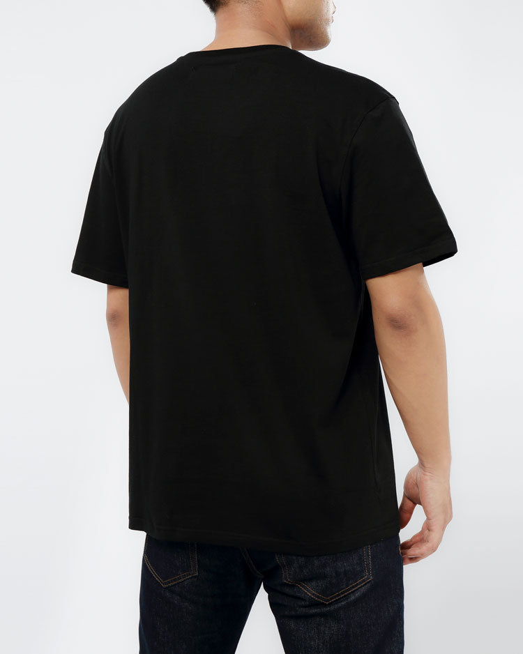 BIG AND TALL THE BIG OG DRIP SHIRT-COLOR: BLACK