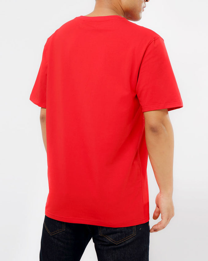 BIG AND TALL THE BIG OG DRIP SHIRT-COLOR: RED